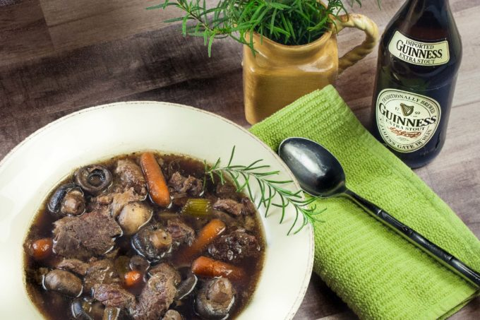 The depth of flavor comes from beef simmered in beer thickened with dark Cajun roux. (All photos credit: George Graham)