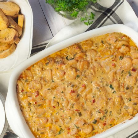 Hot Cajun Shrimp Dip