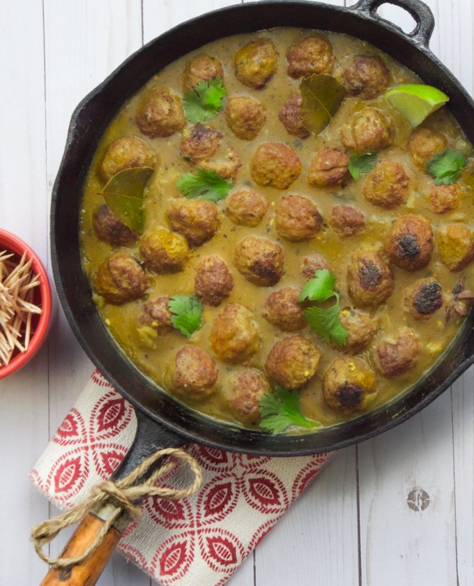 Roll out this Curried Meatballs Skillet for your next party.