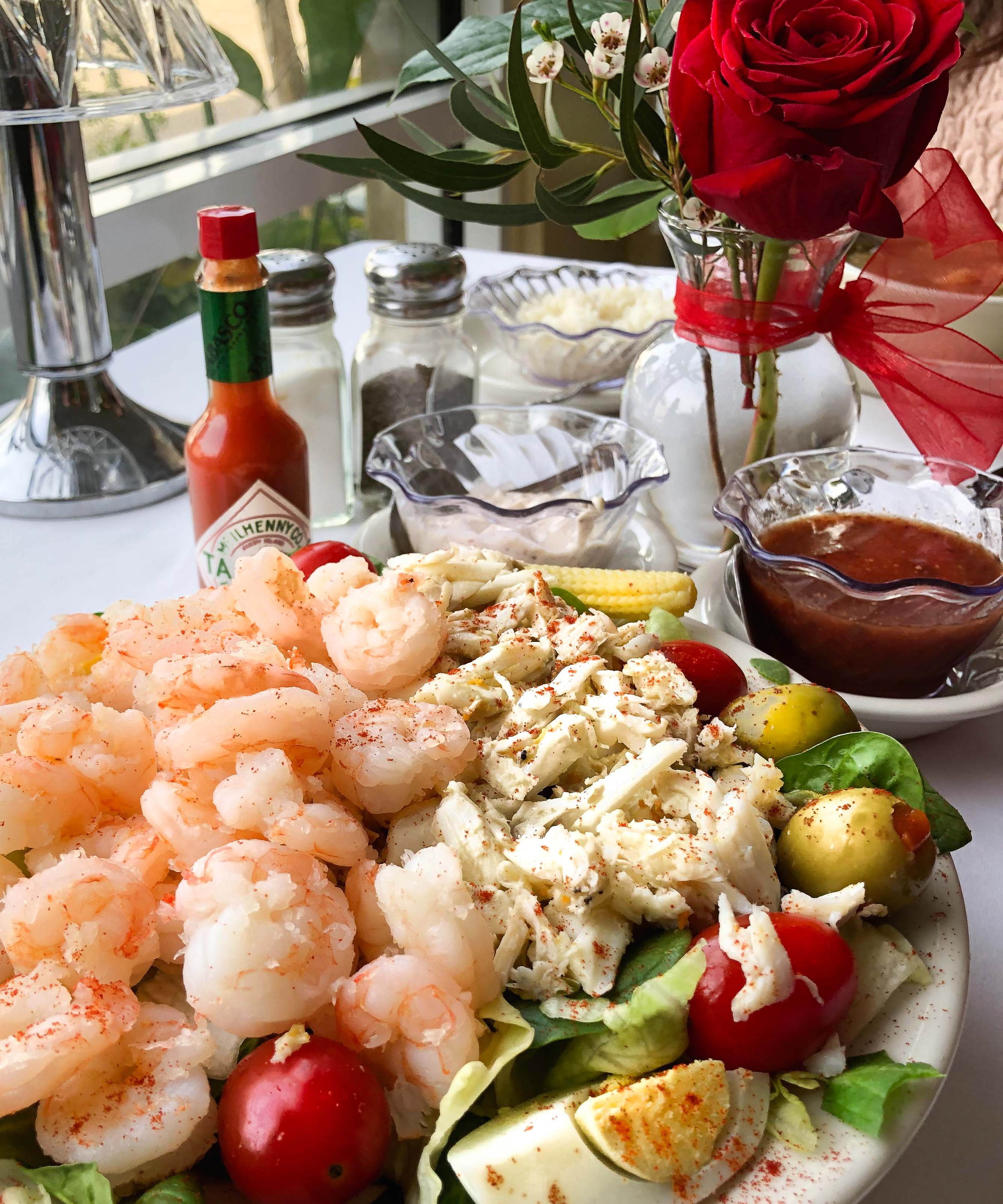 Chilled Seafood Salad with Two Dressings - Acadiana Table