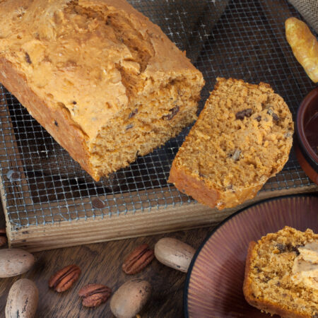 Fall flavors in an easy bread recipe. (All photos credit: George Graham)