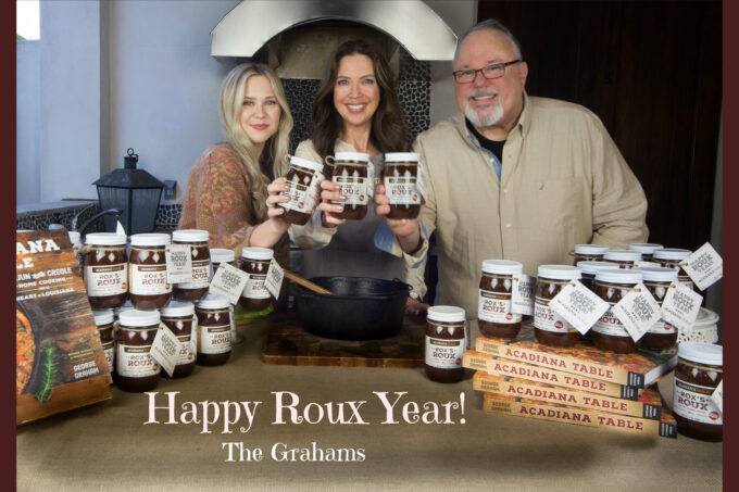 Happy Roux Year GrahamsCard